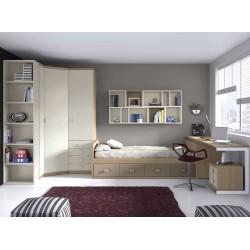 Dormitorio Juvenil Nido F166