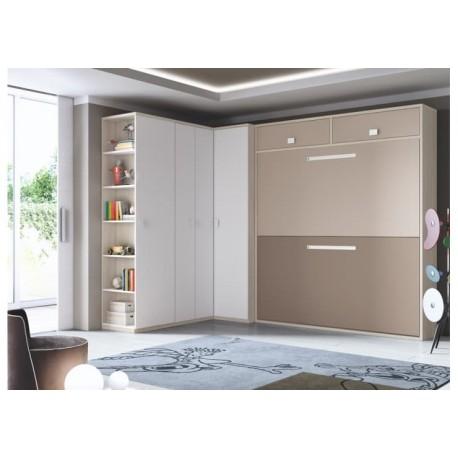 Dormitorio Juvenil Abatible F360-B