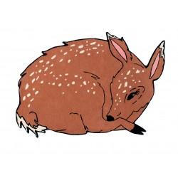Alfombra de Lana Bella The Deer